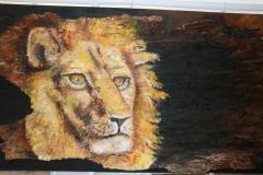 Acrylverf op hout